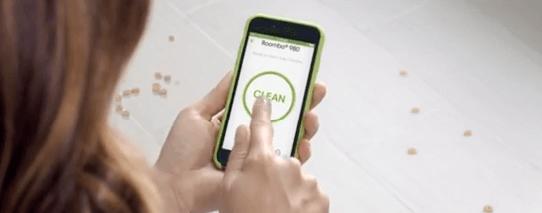 Irobot móvil conexión Roomba