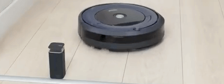 Roomba pared virtual 695