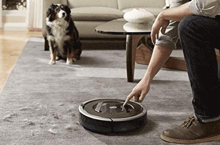 aspirador para mascotas Roomba
