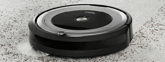 Limpieza Roomba robot 680